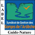 LE LABEL GUIDE-NATURE DES GORGES DE L'ARDÈCHE